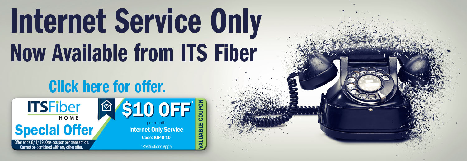 Internet Service Only banner