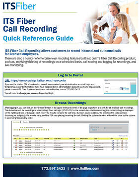 Call Recording-QuickGuide
