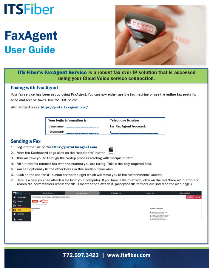 FaxAgent-QuickGuide