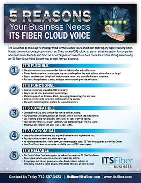 5 Reasons Fiber Cloud Voice - thumnail