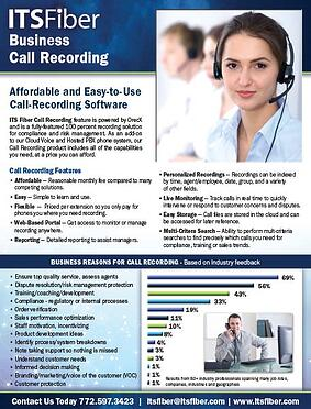 Calling Recording Sales Sheet - thumnail