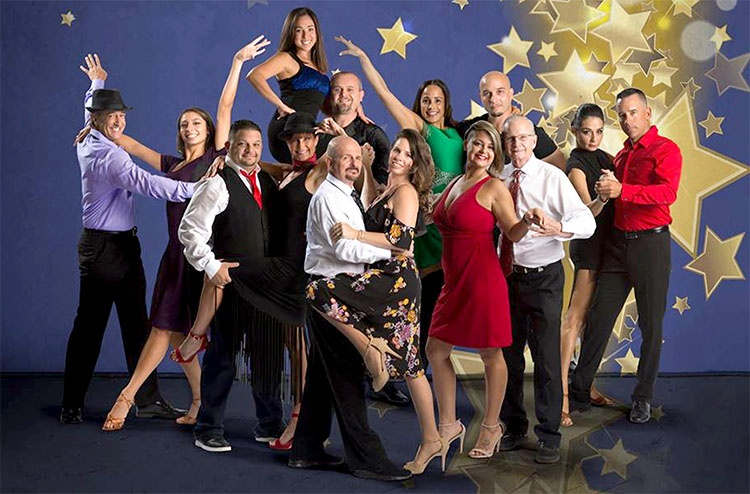 Dancing with the stars group