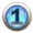 silver icon - number 1