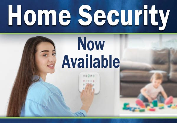 Home Security button for home page
