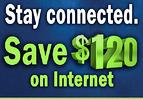 save 120 on internet button