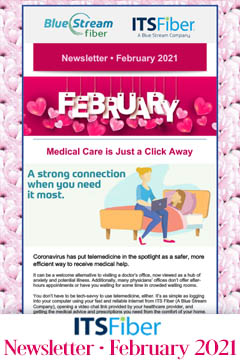 Newsletter February 2021 portal ad