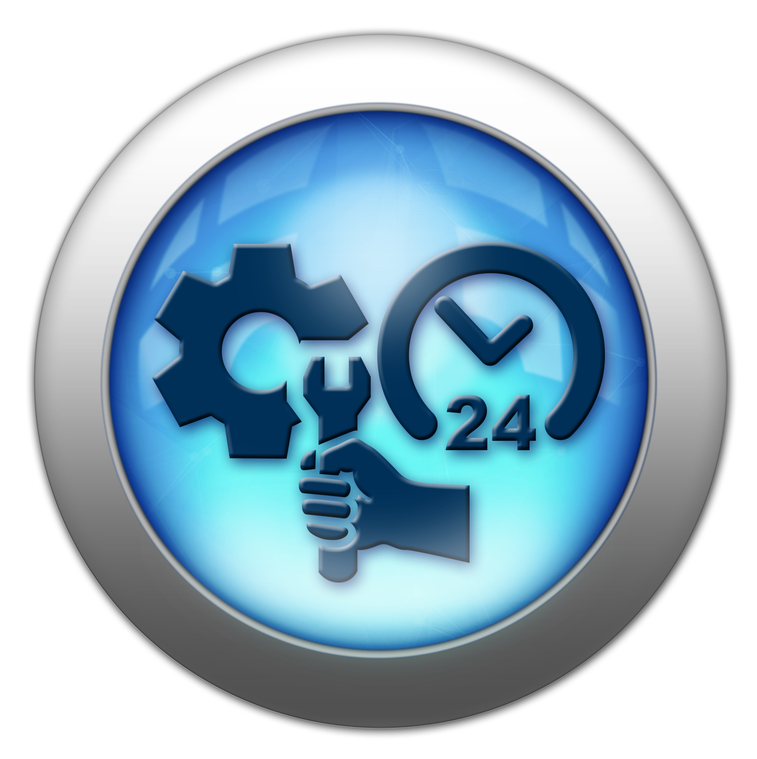 Silver and Blue Icon service.png