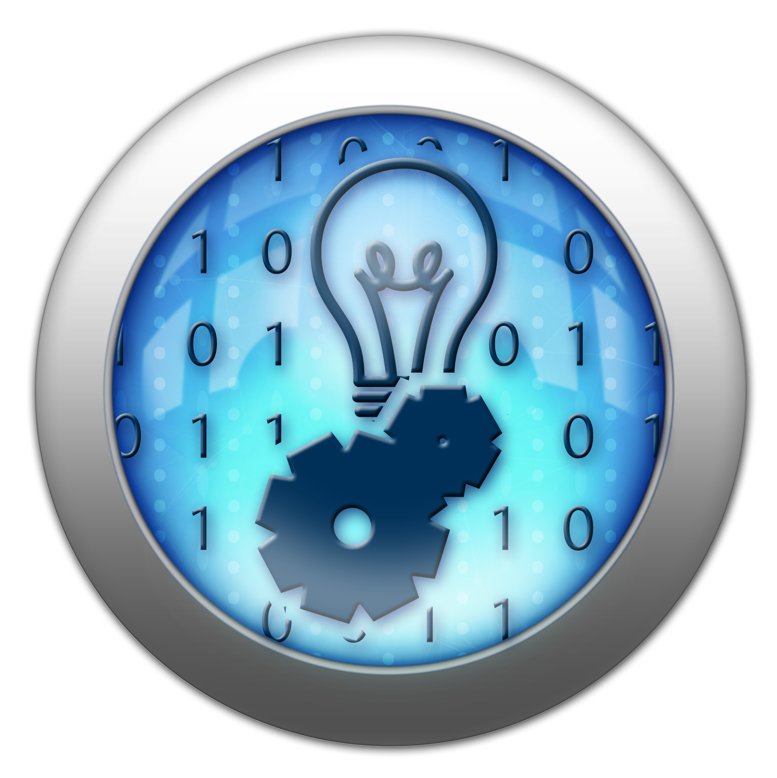 Silver and Blue Icon technology.png