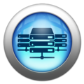 Silver and Blue Icon- data center options