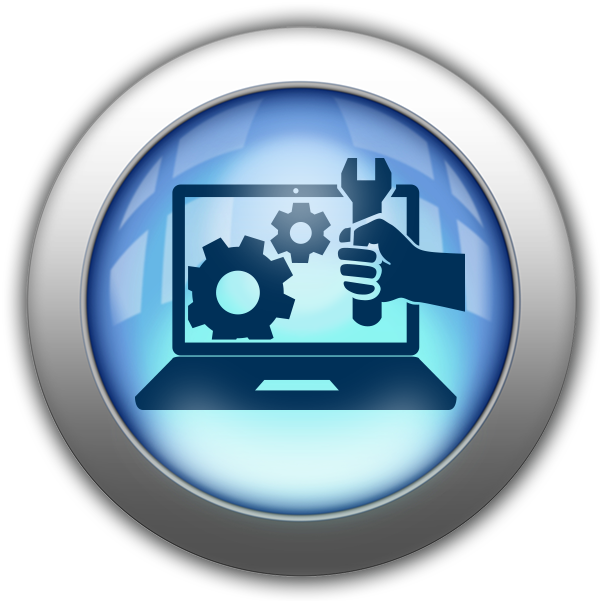 Silver and Blue Icon-IT network.png