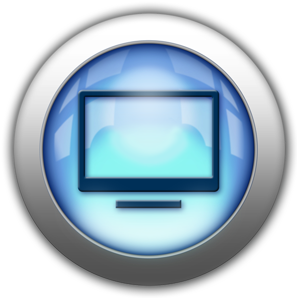 Silver and Blue Icon-TV.png