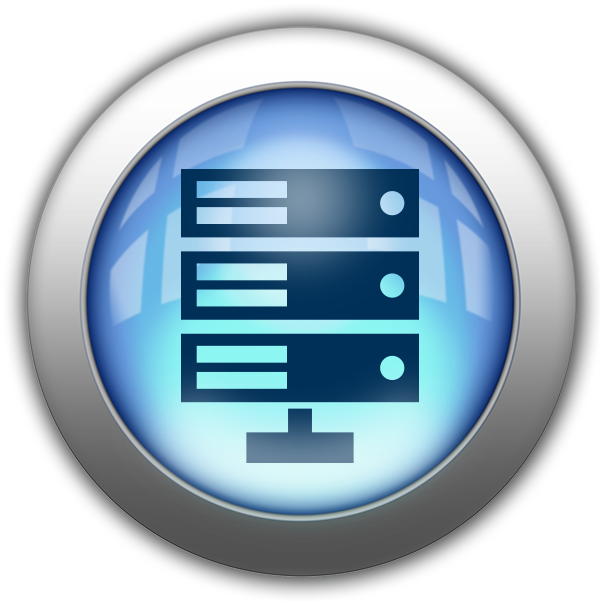 Silver and Blue Icon-data center.png