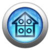 Silver and Blue Icon-smart home-2