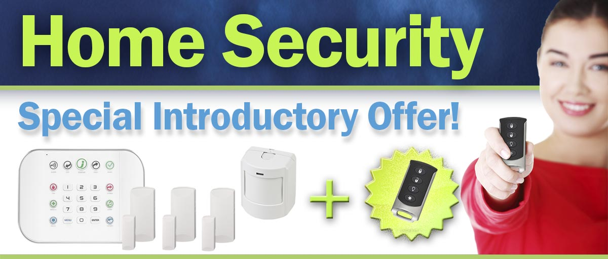 Home Security Offer banner